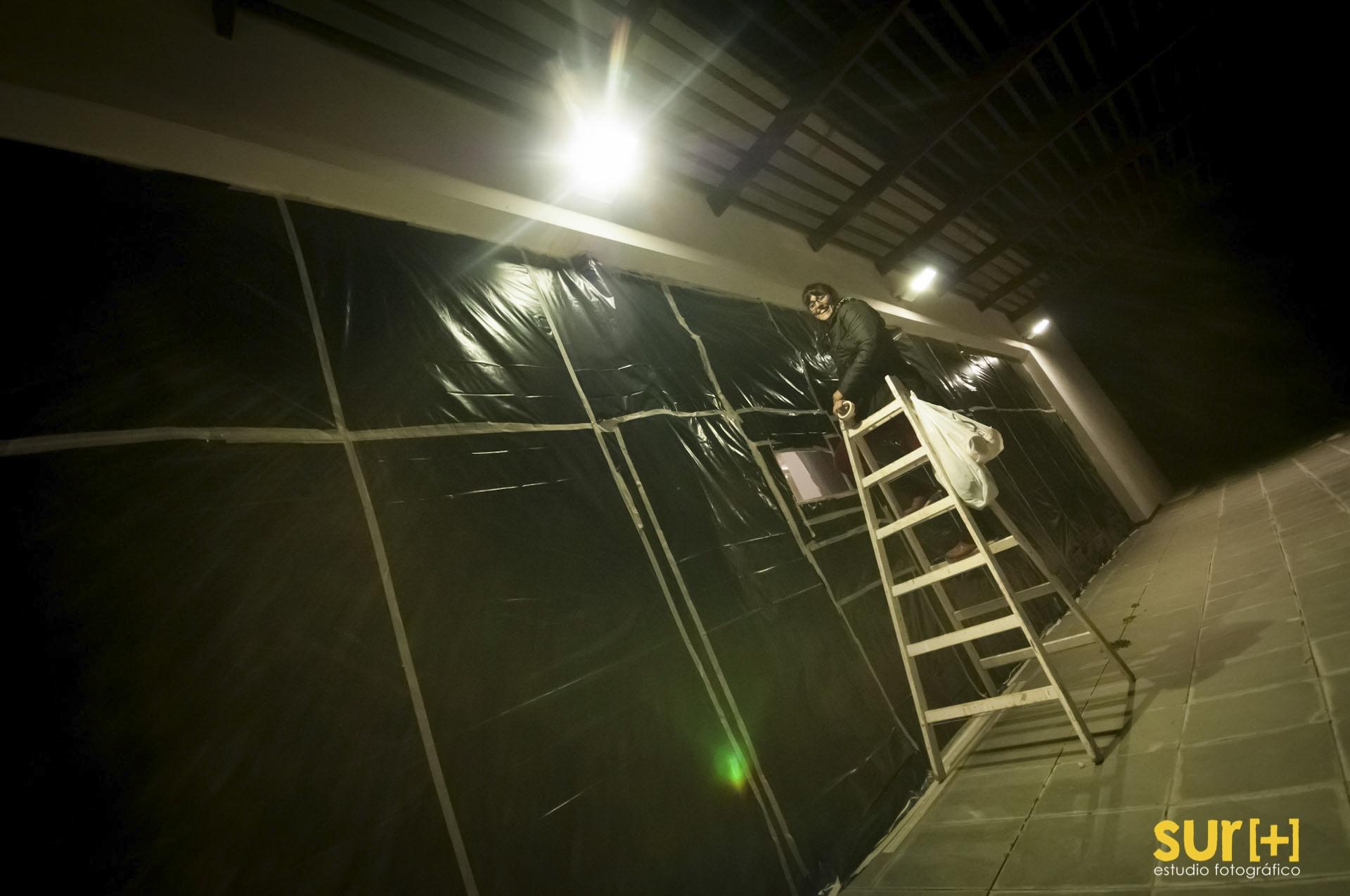 La cámara Gigante en la Fundación Pablo Atchugarry