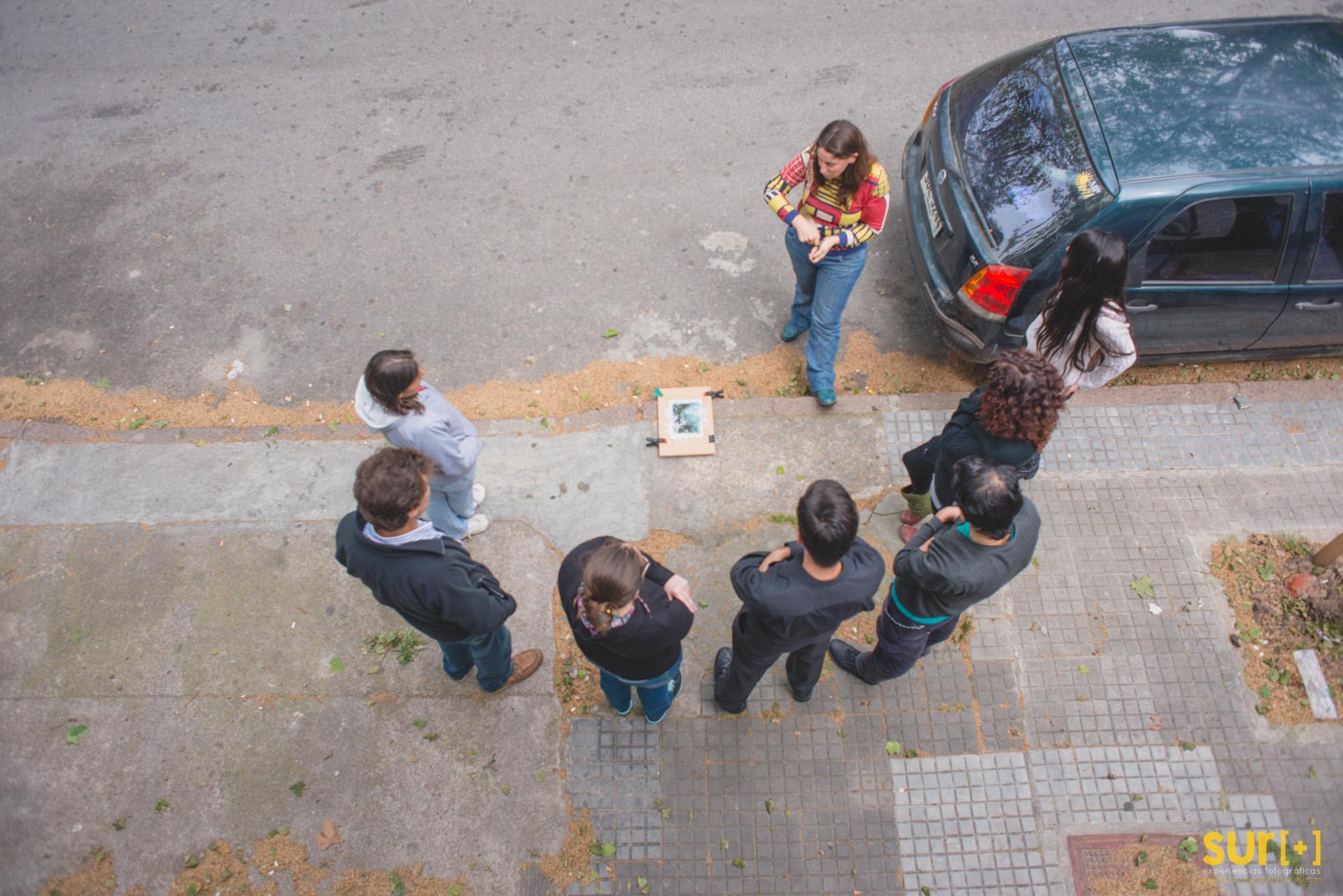 Taller práctico de Cianotipo - Docente: Alejandra Marin