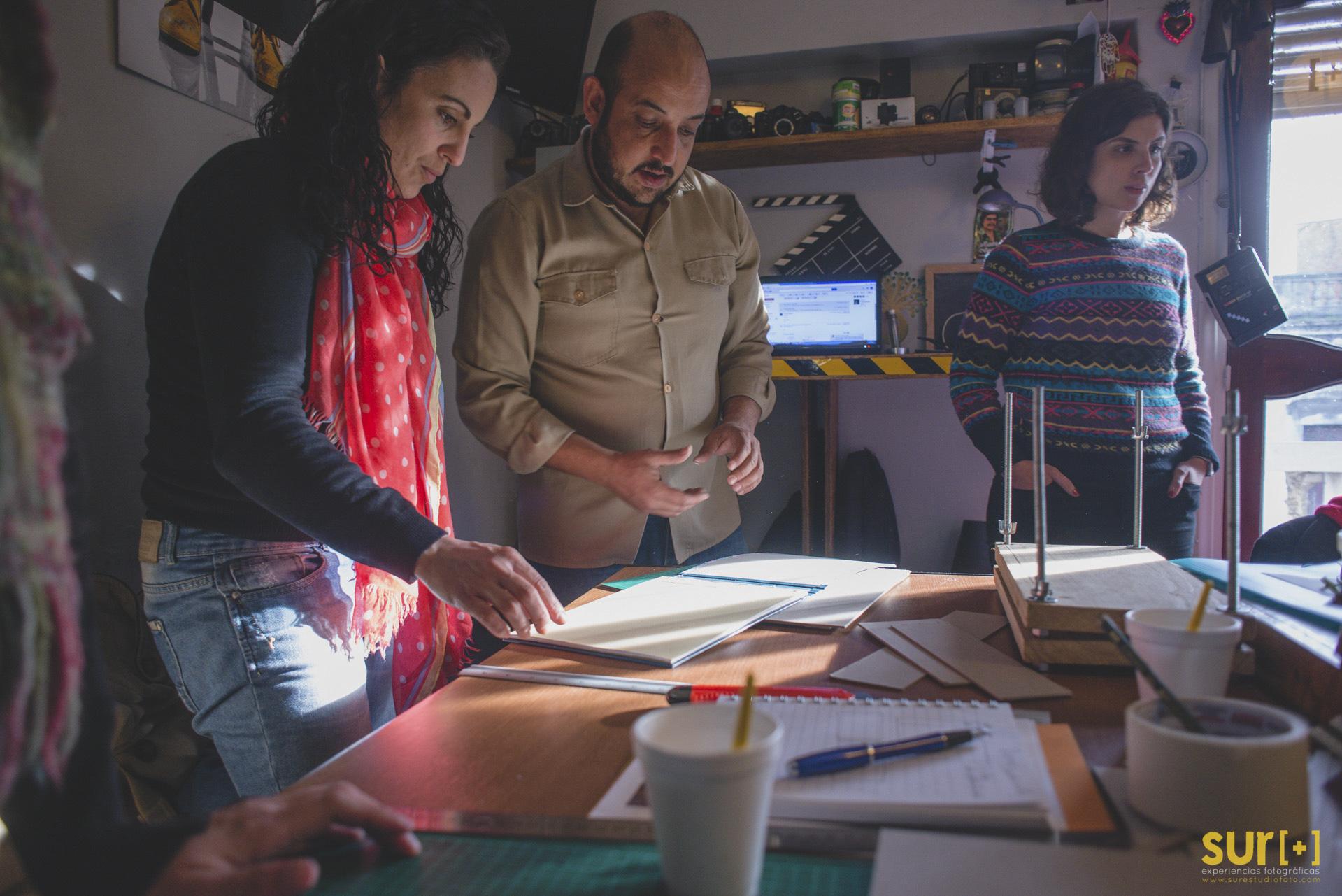 Workshop - Encuadernación Artesanal para Fotolibros