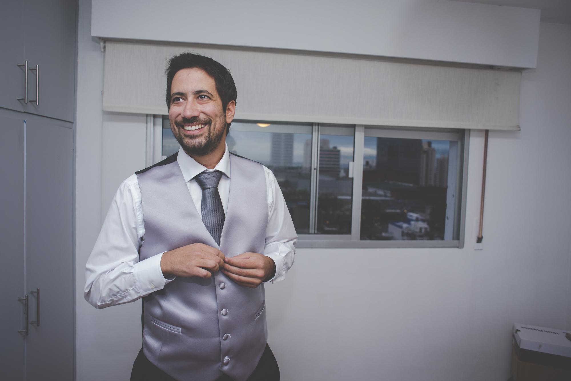 fotografía de bodas - preparativos del novio - getting ready wedding photography