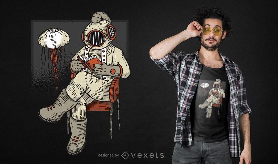 dd0ecb874f6968b4f0546f2f5a596940-reading-diver-t-shirt-design